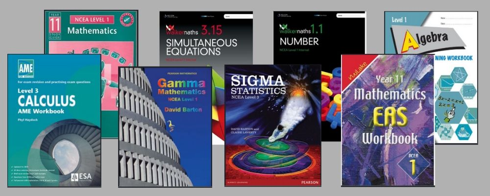 NCEA maths books